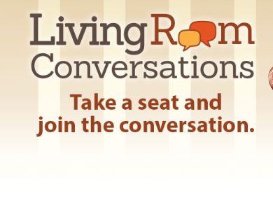 Living room conversations at the pjcc jewish community for Living room conversations